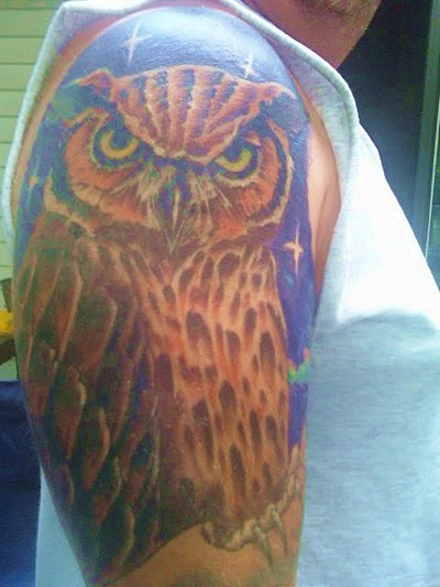 Tattoo Burung Hantu (Album 1)
